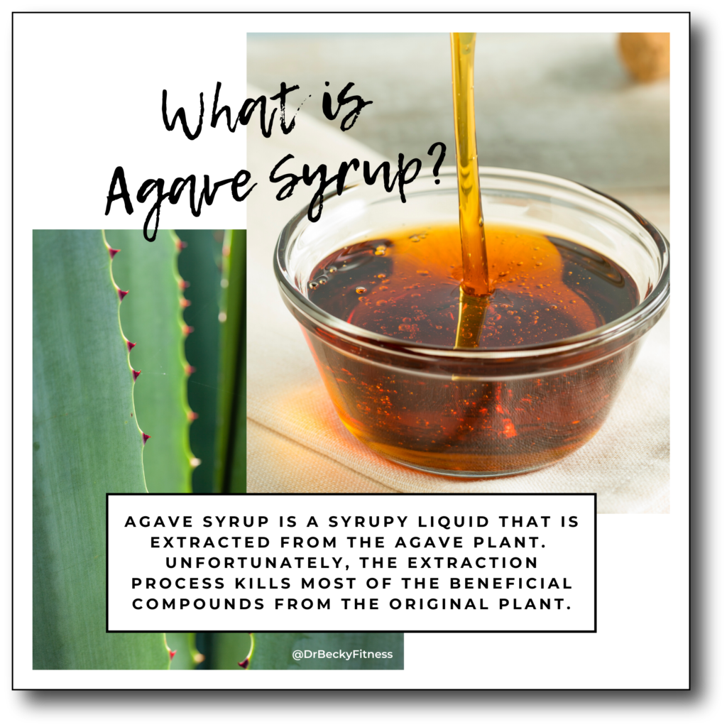 What is agave syrup