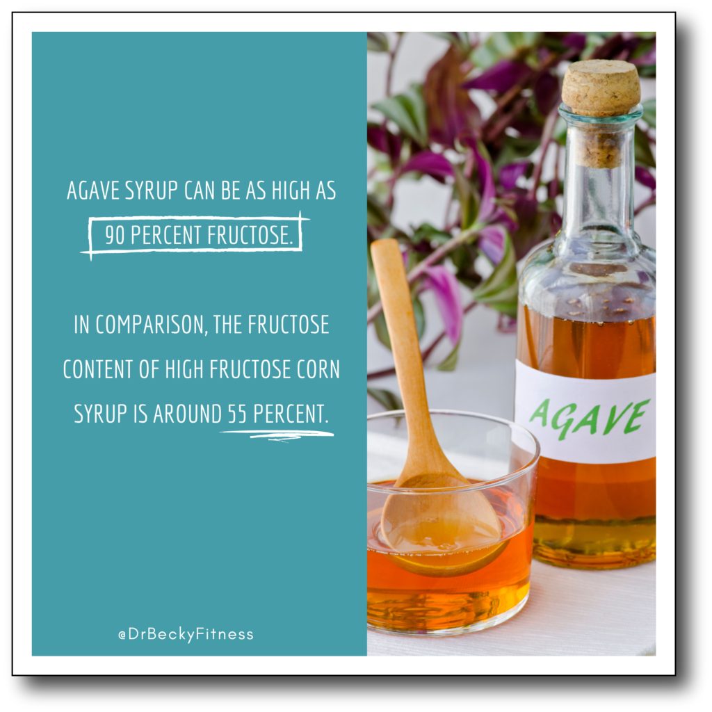 fructose in agave syrup