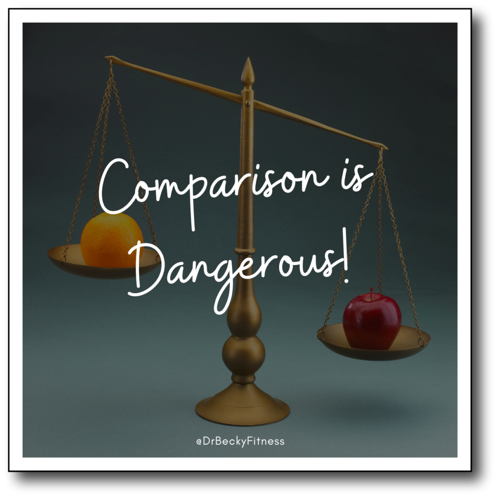 Comparison is dangerous!