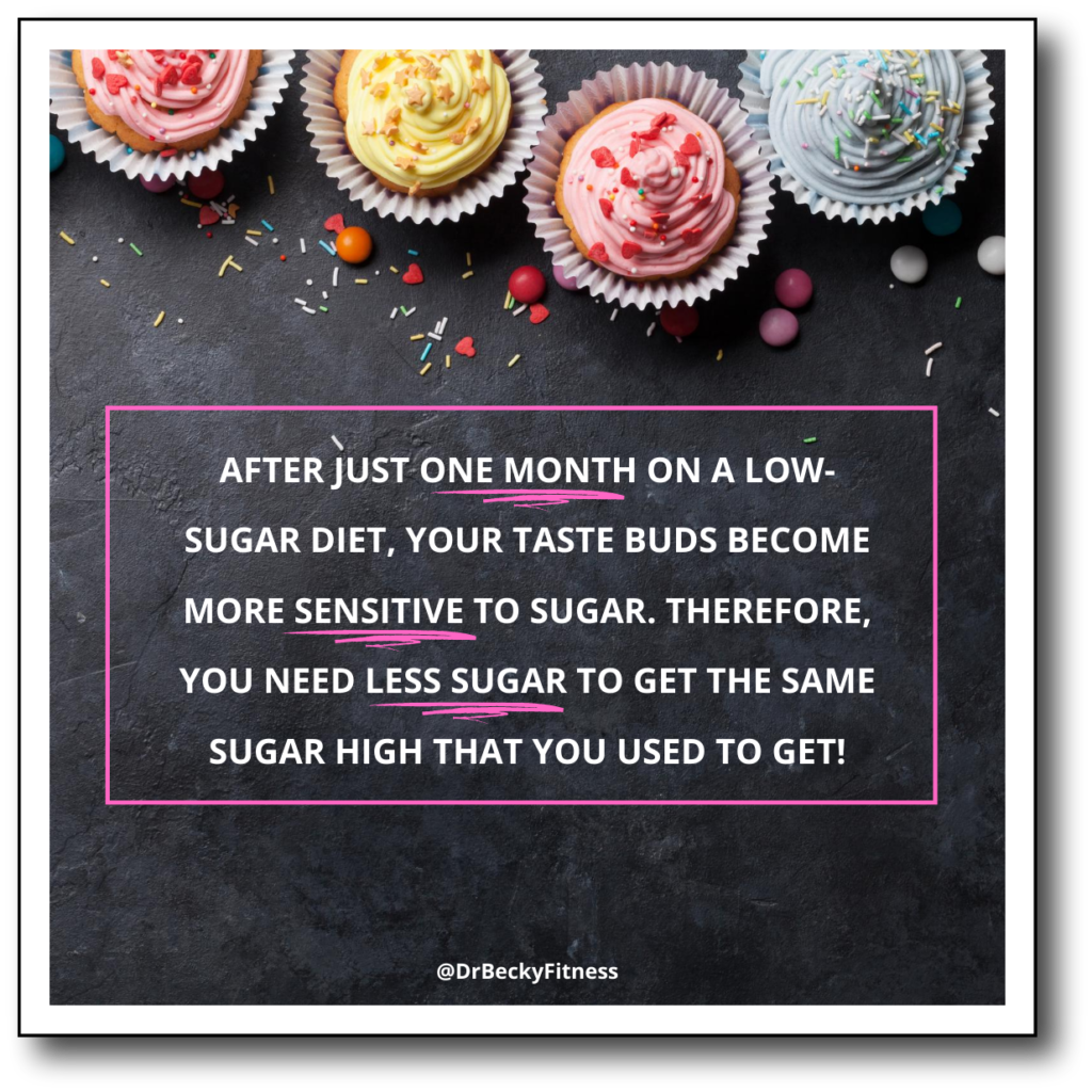 What it takes to lose your taste for sugar