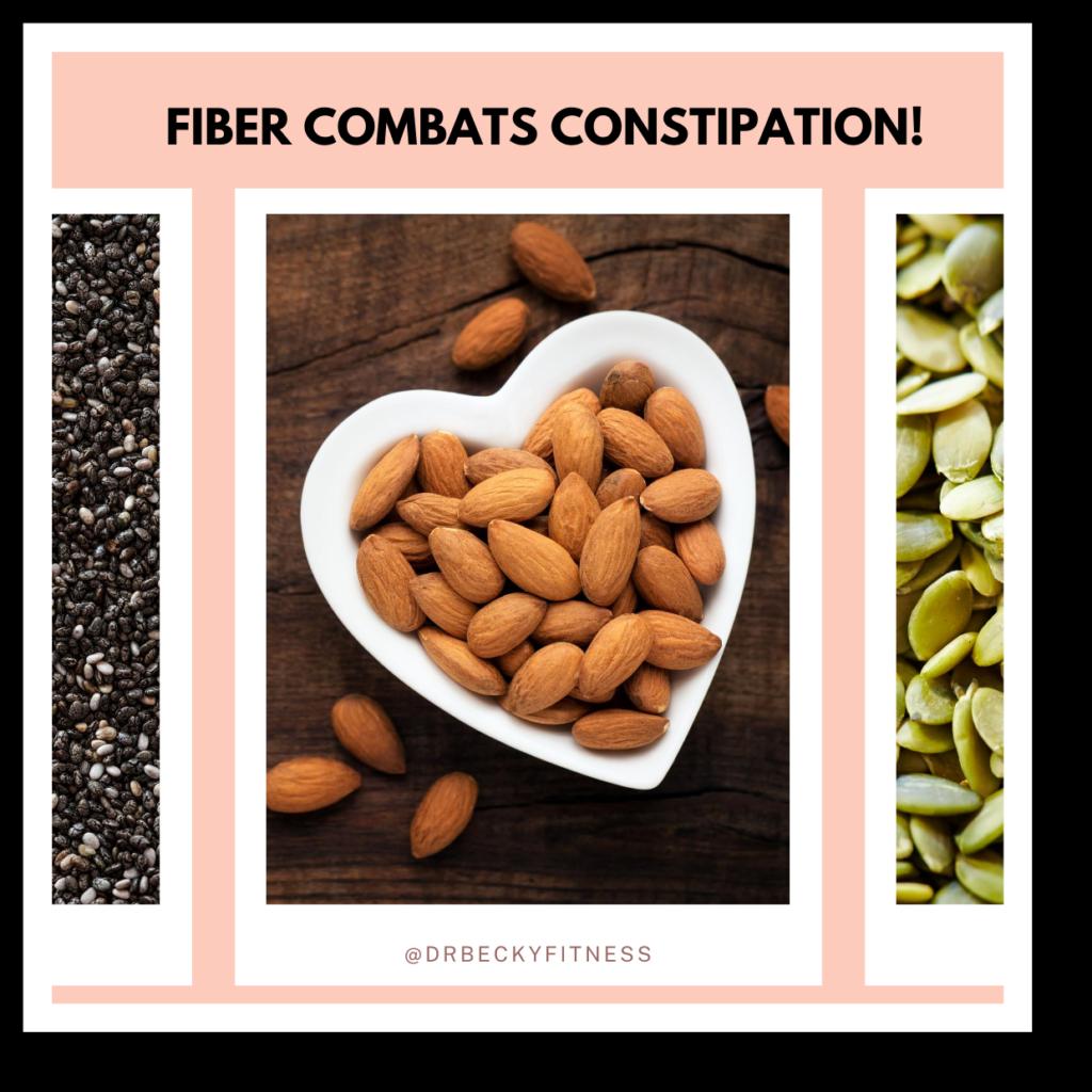 fiber combats constipation