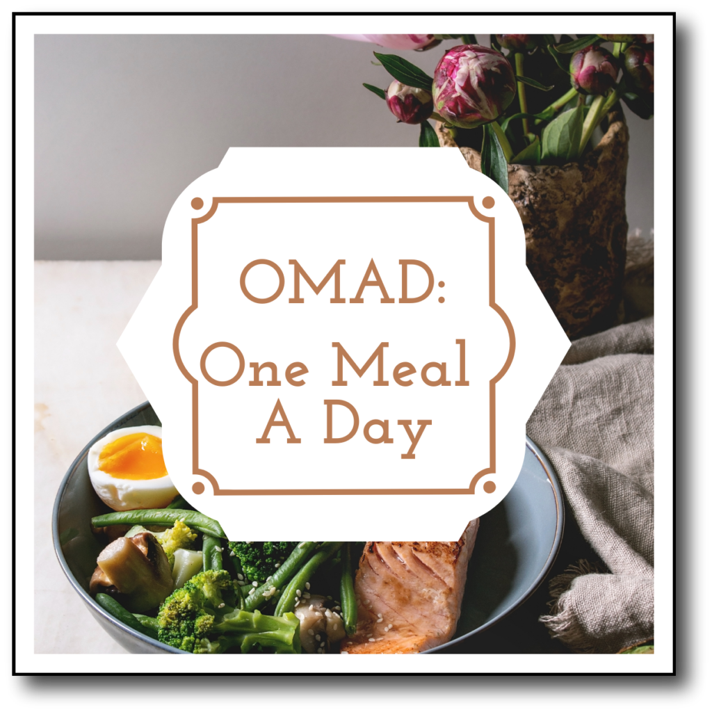 One Meal a Day strategy for slow metabolism