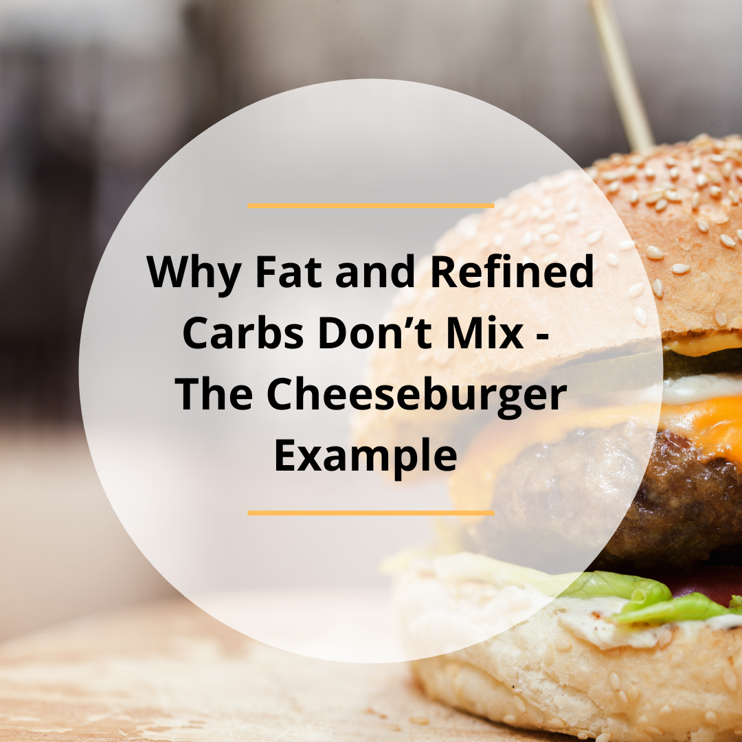Why Fat and Refined Carbs Don't Mix – The Cheeseburger Example