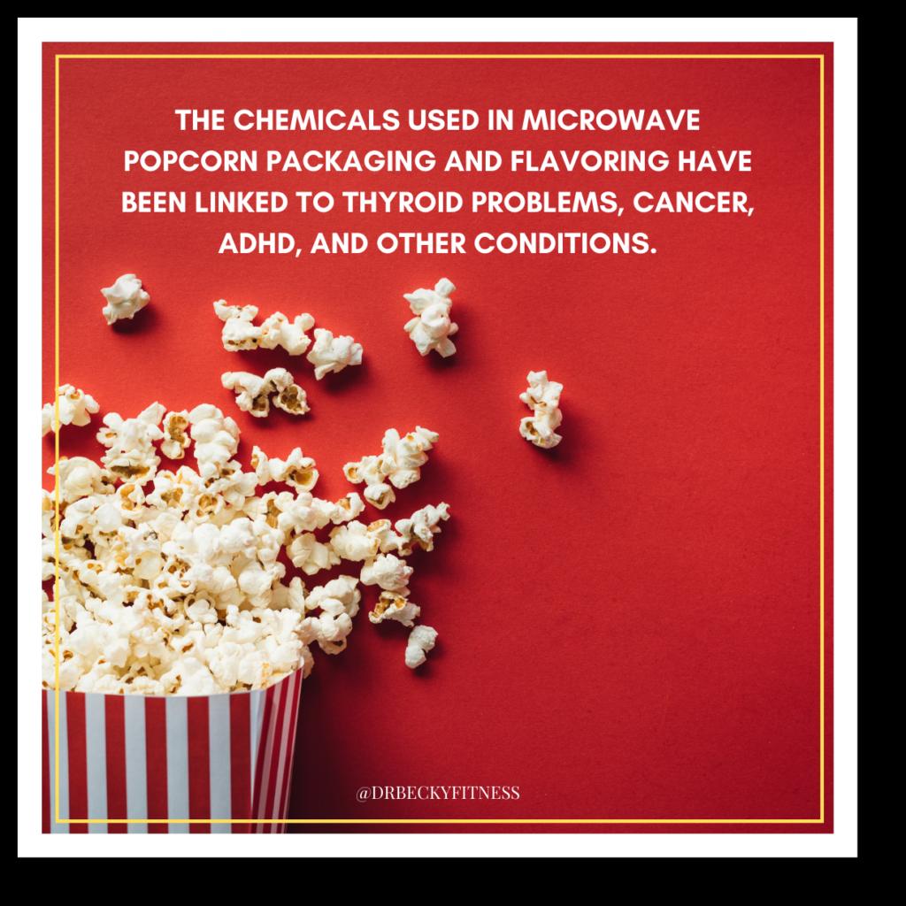 microwave popcorn packaging