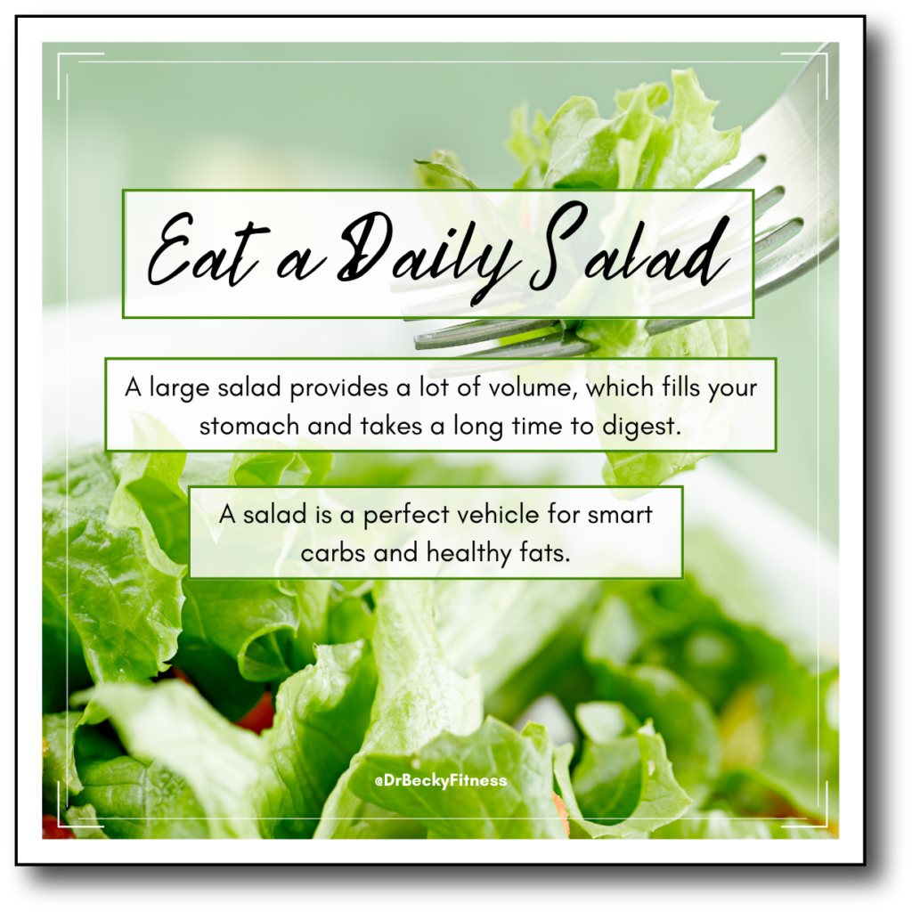 eat a daily salad