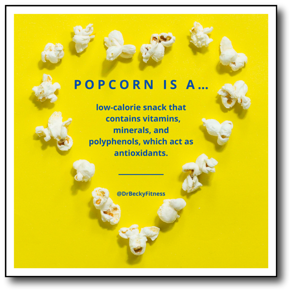 benefits of popcorn snack