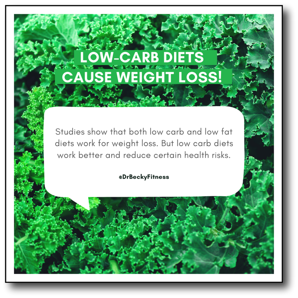 low carb diets cause weight loss
