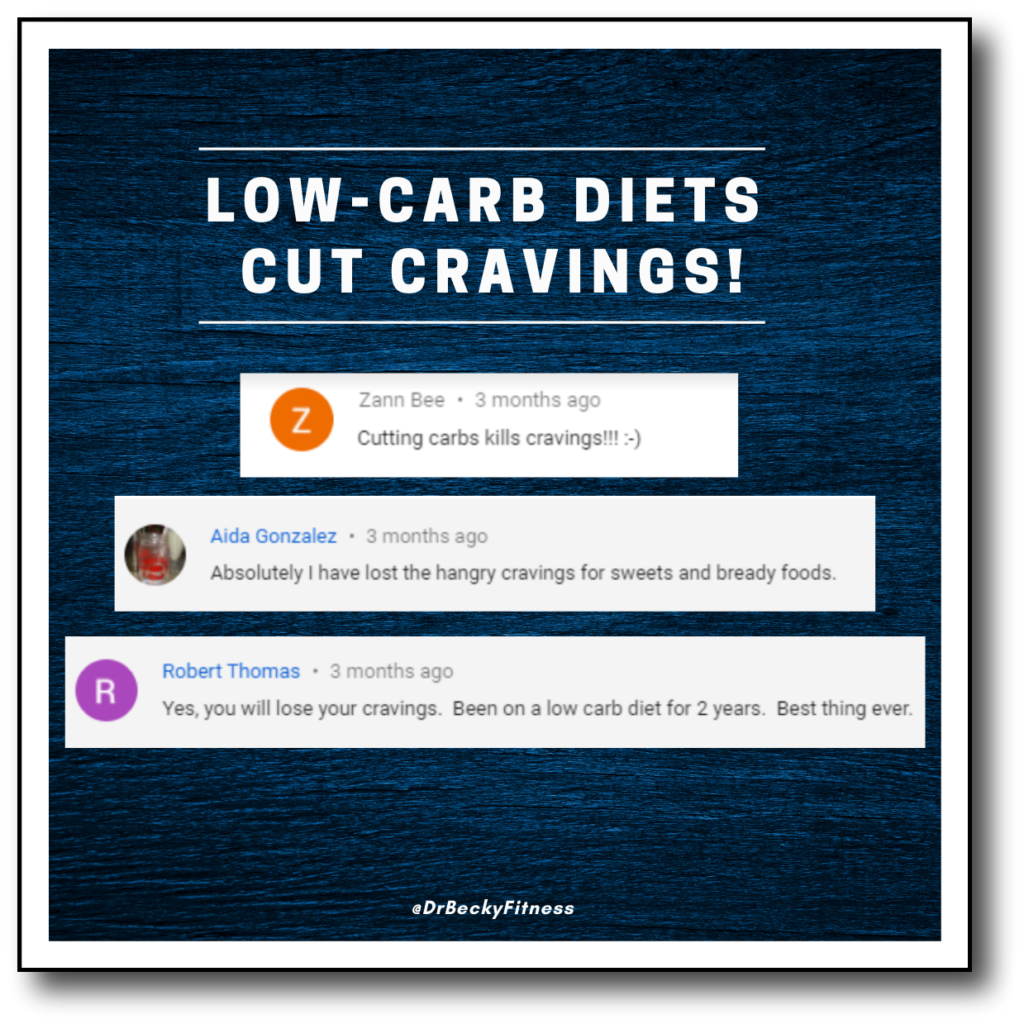 low carb diets cut cravings