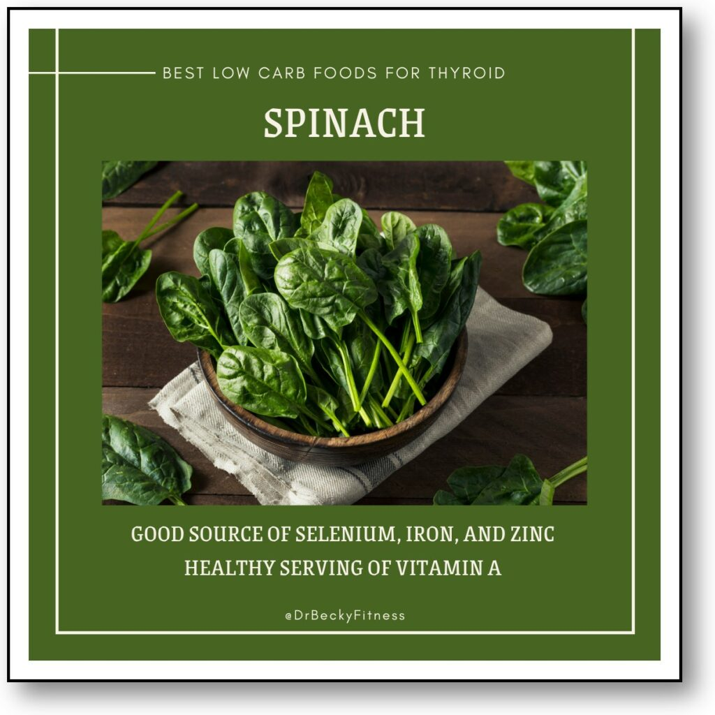 SPINACH for thyroid