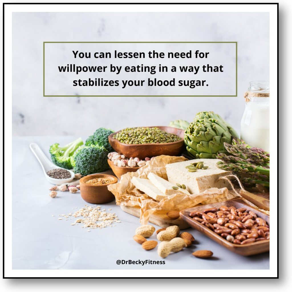 eat food that stabilizes your blood sugar