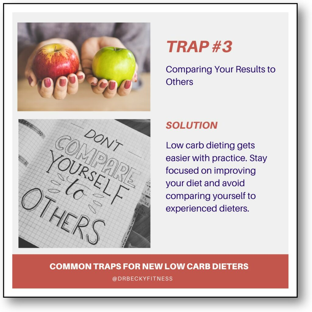Trap #3: Comparing your results to others.