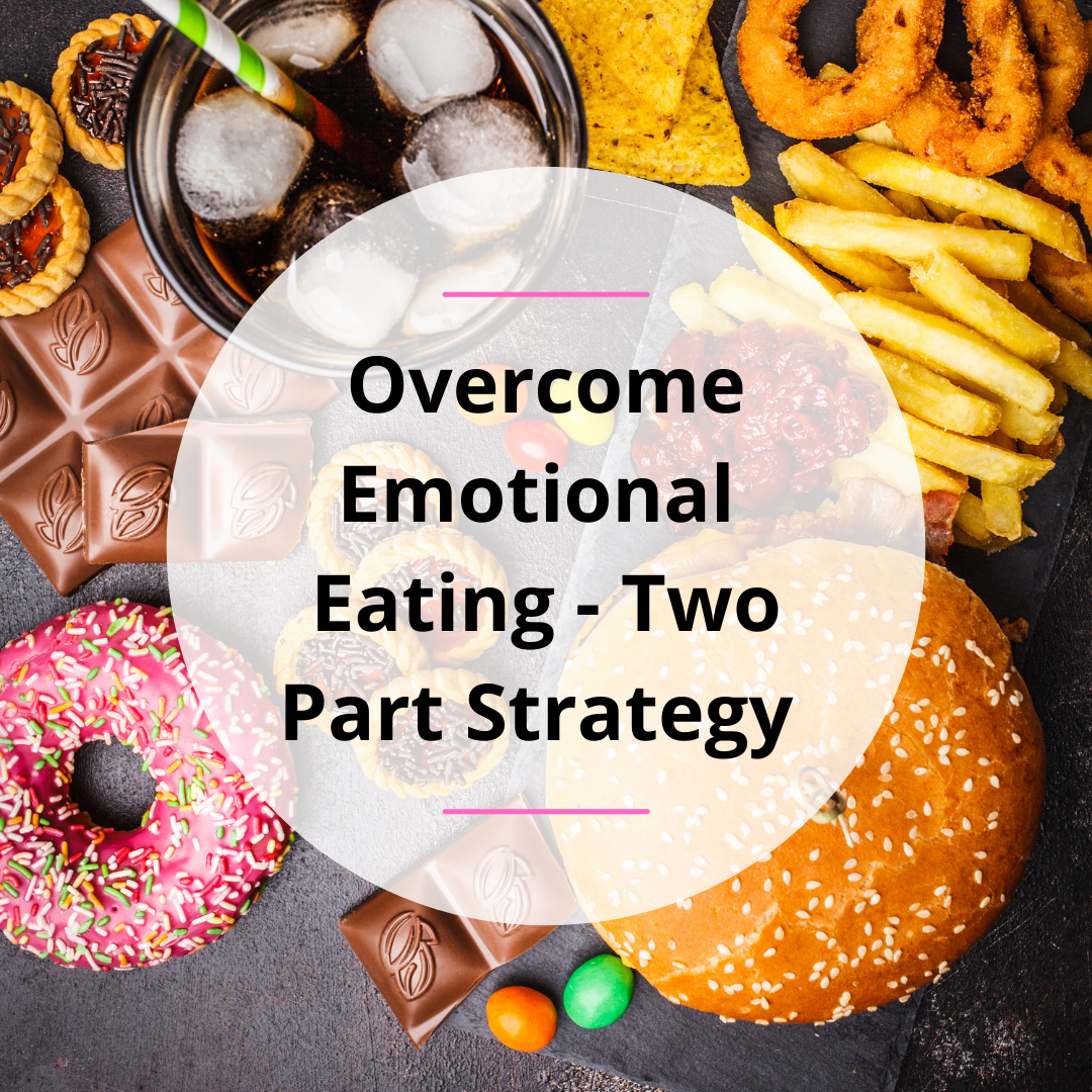 Overcome Emotional Eating – 2 Part Strategy